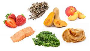 دادن انواع سبزیجات و حبوبات